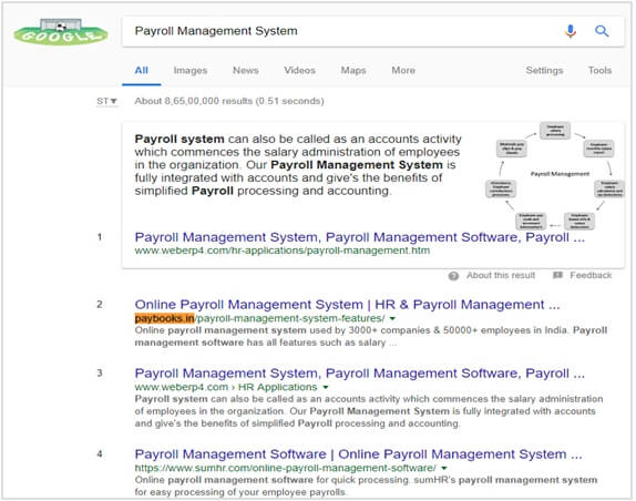 Paybooks - SEO Client